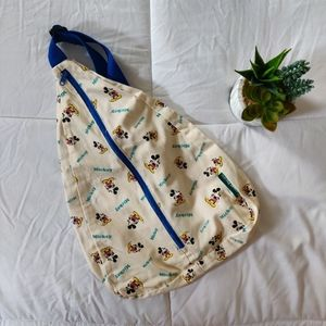 VINTAGE MICKEY MOUSE CROSSBODY BAG/BACKPACK